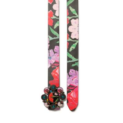Desigual Belt Sporty Flower Reversible