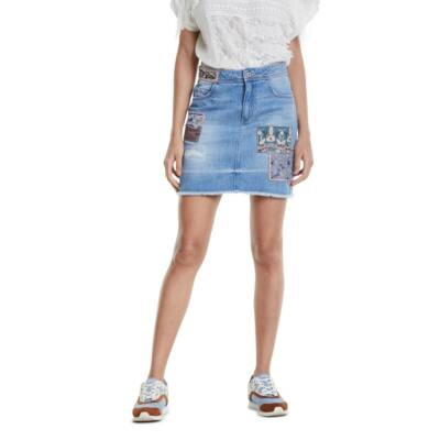 Desigual Fal Patty Denim Medium