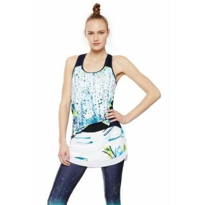 Desigual Ts Racer Training Luminescent felső