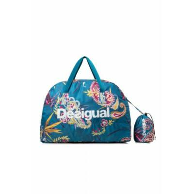 Desigual Packable Bag Ethinic Azul