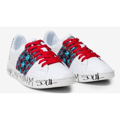 Desigual Shoes Cosmic Exotic Tropical