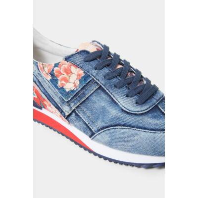Desigual Shoes Broker Denim Patch